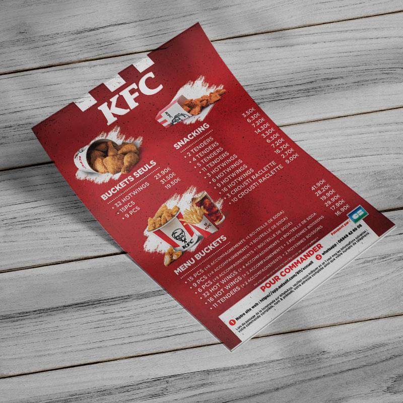 Flyers KFC Guyane