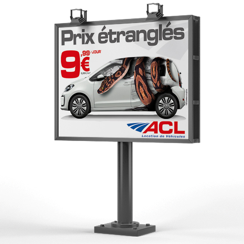 4×3 Campagne promotionnelle ACL Location de voiture